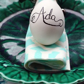 Easter Egg Name Place 'Cards' DIY