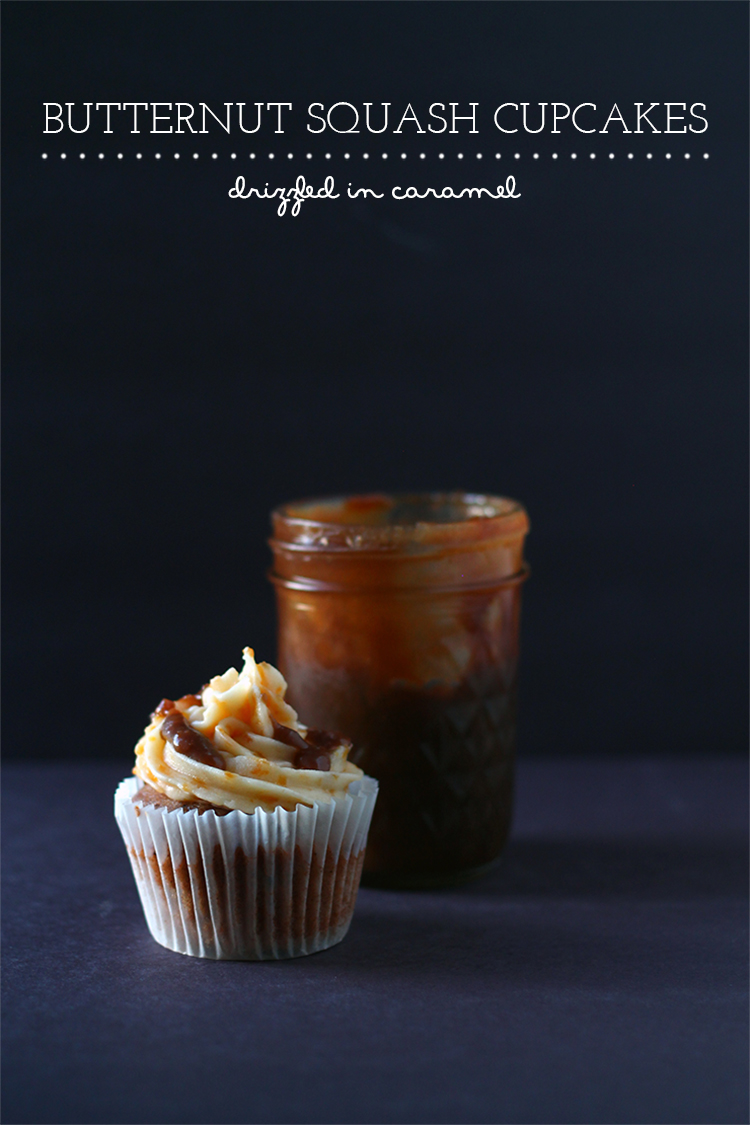 Butternut Squash Cupcakes | Squirrelly Minds