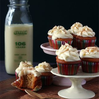 Eat/Holiday | Eggnog Cupcakes
