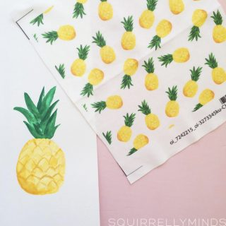 In the Studio – Pineapple Pattern