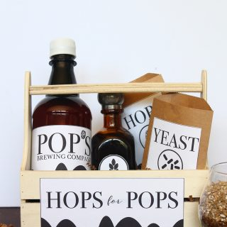 DIY | Father's Day Homebrew Kit with Printables