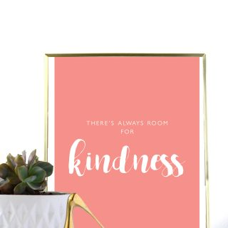 Free Printable 8.5×11 Kindness Print