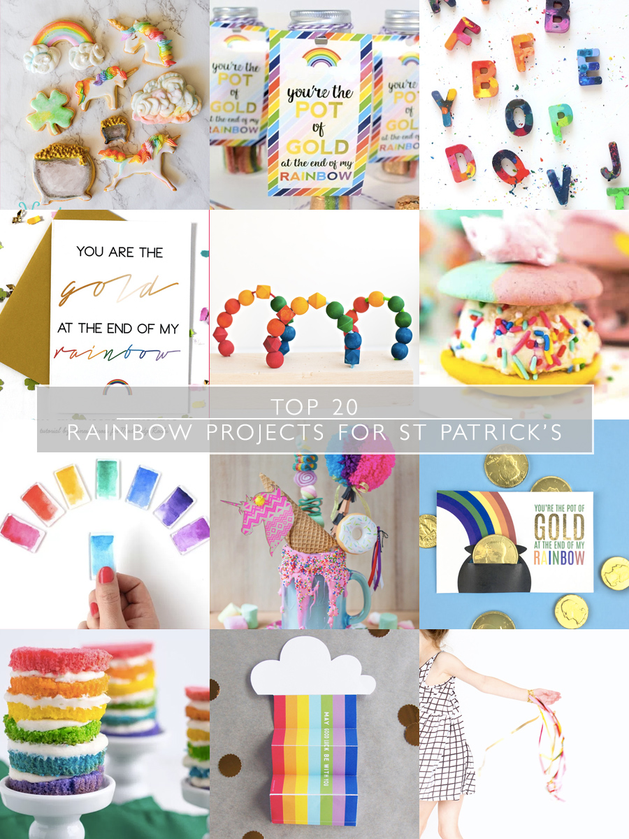 Top 20 Rainbow Projects for St Patrick's Day | Squirrelly Minds