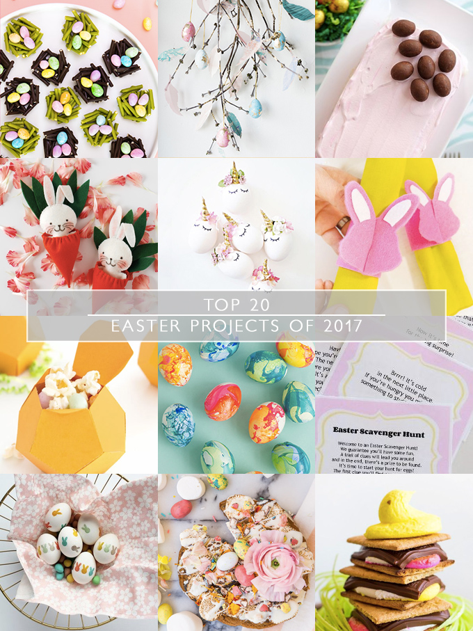 Top 20 Easter Projects of 2017 | Squirrelly Minds
