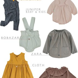 The best places to buy modern classic vintage baby girl clothes