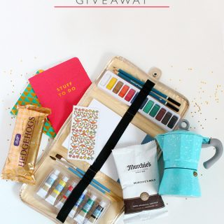 Favourite Things Giveaway (CLOSED)