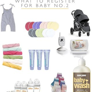 What to register for baby number 2