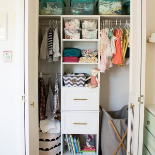 How to Organize a Nursery Closet